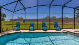 Spacious rental Solara Resort Villa in Orlando complete with stunning South-west facing pool with no rear neighbours