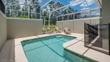 West facing pool with no rear neighbours - www.iwantavilla.com is your first choice of Villa rentals in Orlando direct with owner