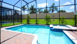 Cayman 1 Villa rental near Disney with South facing pool & spa with no rear neighbours