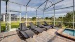 Fiji 2 Villa rental near Disney with Pool deck with 4 sun loungers