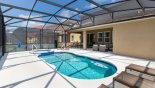 Villa rentals near Disney direct with owner, check out the Large south facing pool & spa