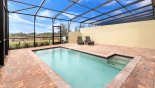 Orlando Townhouse for rent direct from owner, check out the Pool deck with open views
