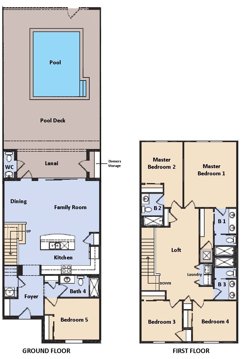 Castaway 2 Floorplan