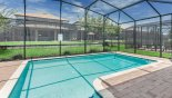 Sunny west facing pool - www.iwantavilla.com is your first choice of Villa rentals in Orlando direct with owner