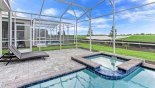 Villa rentals near Disney direct with owner, check out the Relaxing spa with great views