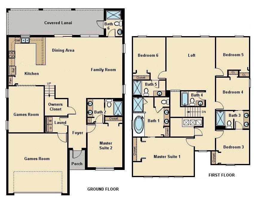 Fiji 10 Floorplan