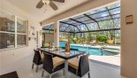 Villa rentals in Orlando, check out the View of pool from private lanai