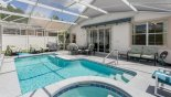 Orlando Villa for rent direct from owner, check out the Ample seating provided on pool deck