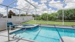 Private north-west facing pool & spa with conservation views with this Orlando Villa for rent direct from owner