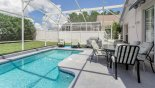 Silver Maple + 3 Villa rental near Disney with Pool deck with large patio table & 6 chairs