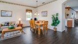 Living room & dining area - www.iwantavilla.com is the best in Orlando vacation Villa rentals