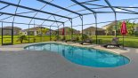 Spacious rental Providence Villa in Orlando complete with stunning South-west facing pool with 4 sun loungers