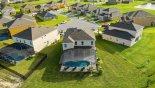 Wellington 1 Villa rental near Disney with Aerial view of villa pool deck