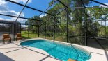 No rear neighbours and sun all day on the pool deck - www.iwantavilla.com is the best in Orlando vacation Villa rentals