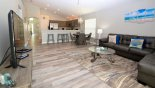 Villa rentals in Orlando, check out the Family room with 60