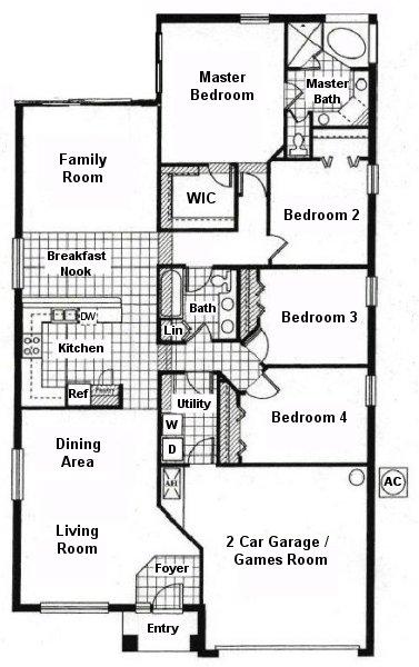 Wynnewood 1 Floorplan