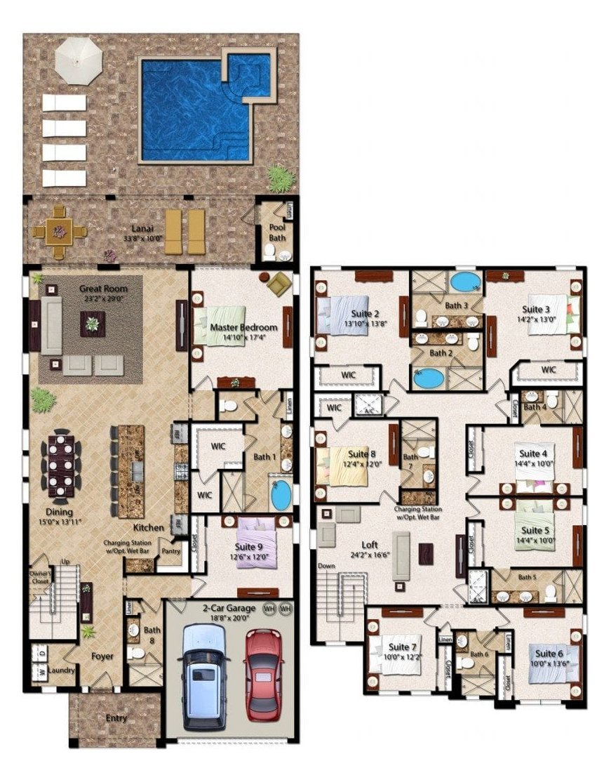 Hawthorne 1 Floorplan