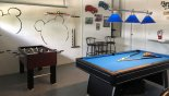 Springtree 1 Villa rental near Disney with Games room with pool table & table foosball
