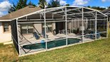 View of pool from rear garden - www.iwantavilla.com is your first choice of Villa rentals in Orlando direct with owner