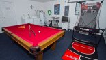 Spacious rental Highlands Reserve Villa in Orlando complete with stunning Games room