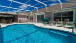 Villa rentals in Orlando, check out the Large SW facing pool