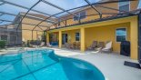 Villa rentals near Disney direct with owner, check out the Pool deck with 6 sun loungers - BBQ is a rental unit