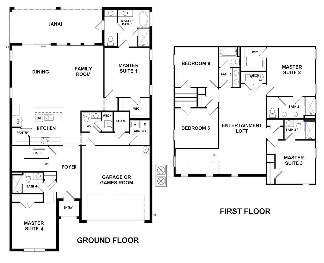 Belize 4 Floorplan