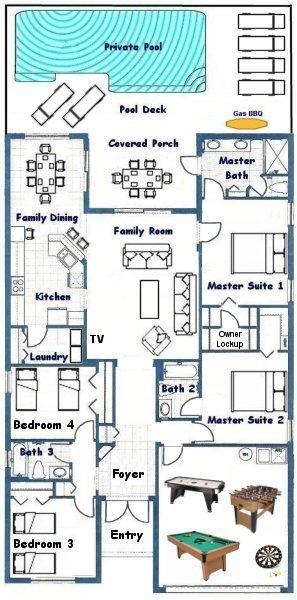 Jasmine 1 Floorplan