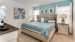 Villa rentals in Orlando, check out the Master bedroom #2 with king sized bed