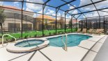 Villa rentals near Disney direct with owner, check out the Sunny extended pool deck with pool and spa