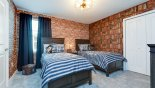 Orlando Villa for rent direct from owner, check out the Bedroom #5 with twin beds & Harry Potter theming