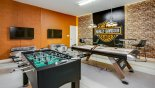 San Clemente 1 Villa rental near Disney with Games room with air hockey, table foosball, dual LED screens, PS4 & 4 gaming chairs