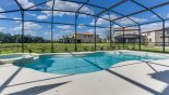 Orlando Villa for rent direct from owner, check out the North-west facing extended deck with large pool & spa