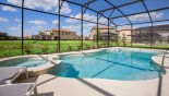 Pool & spa enjoy pond views with no close rear neighbours from San Clemente 1 Villa for rent in Orlando