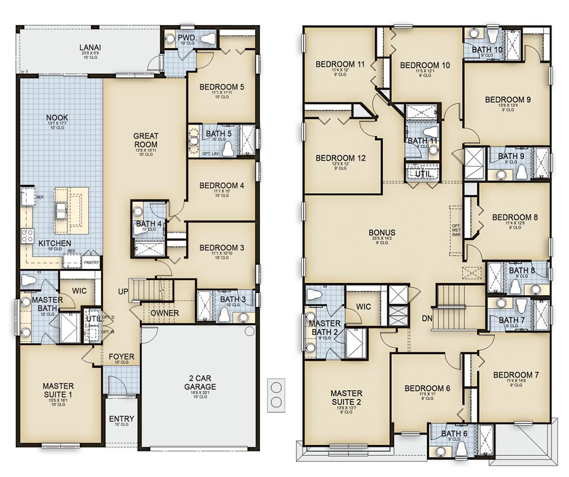 San Clemente 1 Floorplan