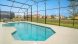 Orlando Villa for rent direct from owner, check out the Sunny east facing pool with open views