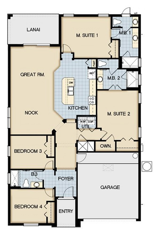 Claremont 1 Floorplan