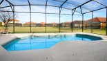 Orlando Villa for rent direct from owner, check out the Beautiful east facing pool with open aspect