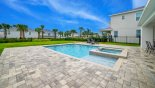 Villa rentals in Orlando, check out the Pool deck gets the sun all day