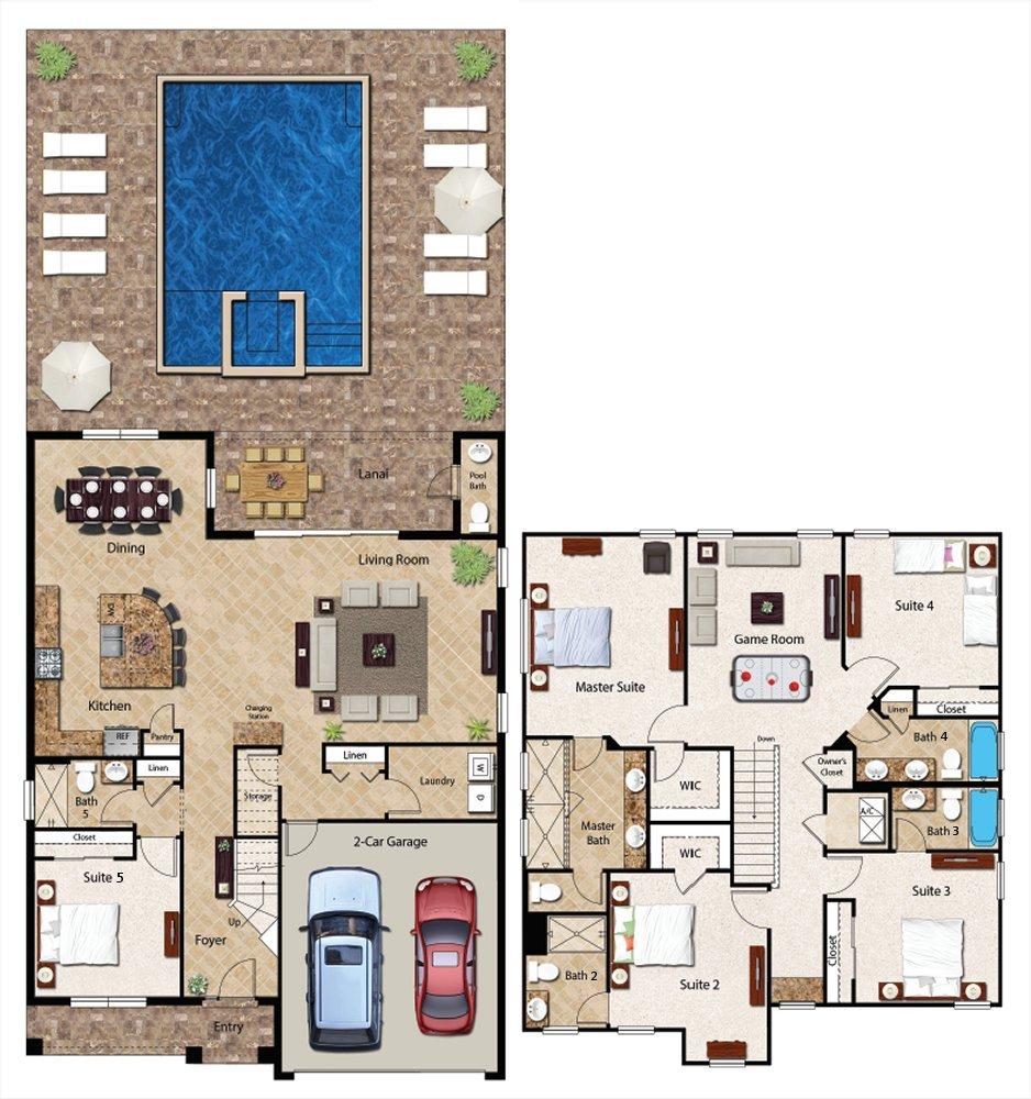 Manchester 1 Floorplan