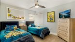 Orlando Villa for rent direct from owner, check out the Bedroom #7 with Smart TV