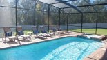 Villa rentals in Orlando, check out the Pie shaped plot ensures neighbours are not too close