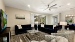 Orlando Villa for rent direct from owner, check out the Family room with ample comfortable seating to watch the TV