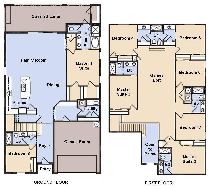 Baymont 4 Floorplan