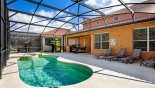 Orlando Villa for rent direct from owner, check out the Extended pool deck with 4 sun loungers