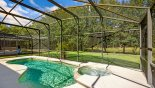Villa rentals in Orlando, check out the Majority of pool deck gets the sun for most of the day