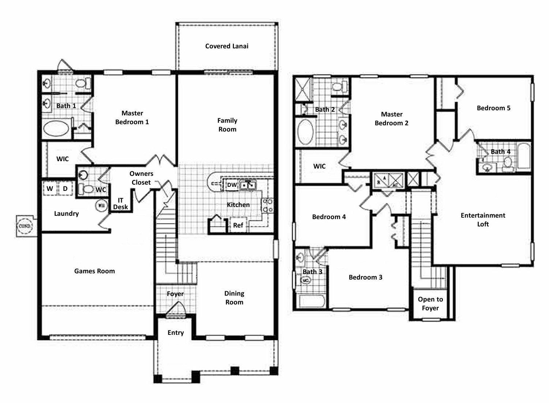 Bimini 5 Floorplan