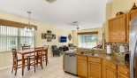 Orlando Villa for rent direct from owner, check out the Kitchen viewed towards family room