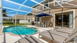 Monticello 5 Villa rental near Disney with Pool deck with 6 sun loungers - useful as the pool deck gets the sun all day