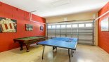 Villa rentals in Orlando, check out the Games room with pool table, table tennis & dartboard